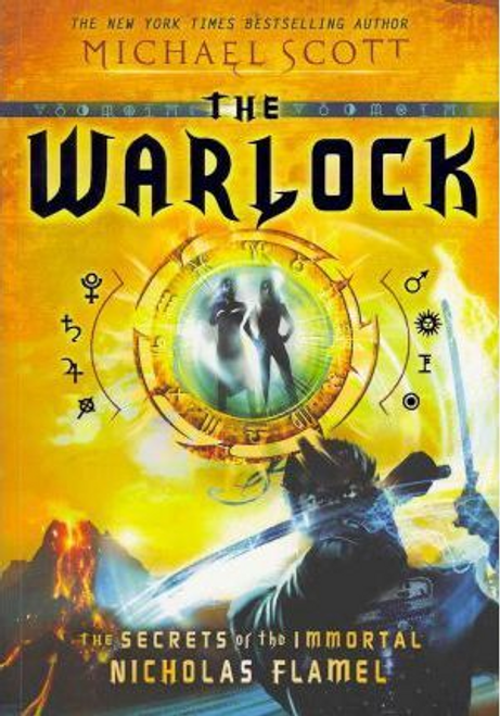 Scott, Michael / The Warlock (Large Paperback) ( Nicholas Flamel Series - Book 5 )