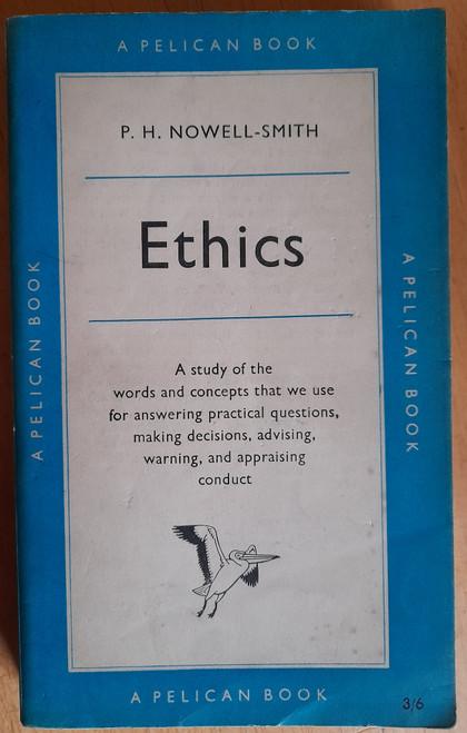 Nowell-Smith, P. H - Ethics - Vintage Pelican PB - 1959