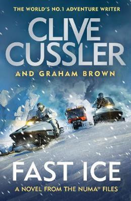 Cussler, Clive / Fast Ice : Numa Files #18 (Large Paperback)