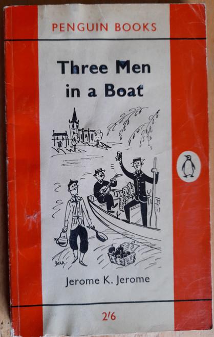 Jerome, Jerome K. - Three Men In A Boat - Vintage Penguin PB 1962 ( Originally 1889)