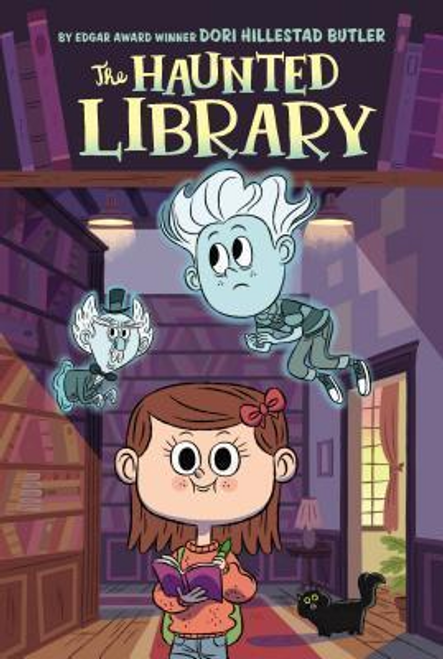 Butler, Dori Hillestad / The Haunted Library #1