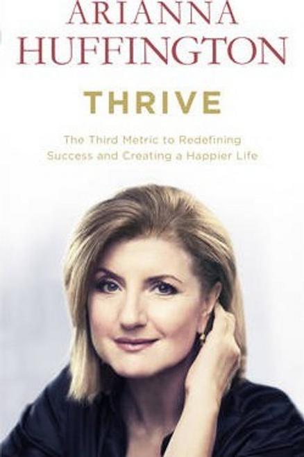 Huffington, Arianna / Thrive (Large Paperback)