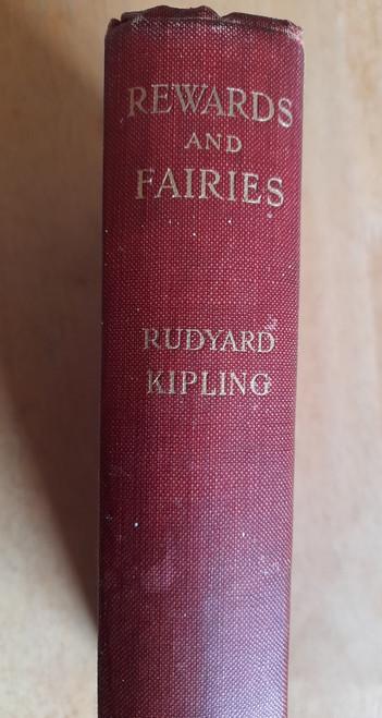 Kipling, Rudyard - Rewards and Fairies - HB 1st edition 19210 - Illustrated