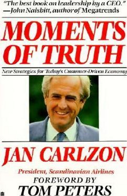 Carlzon, Jan / Moments of Truth (Large Paperback)