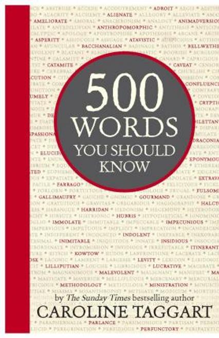 Taggart, Caroline / 500 Words You Should Know (Hardback)