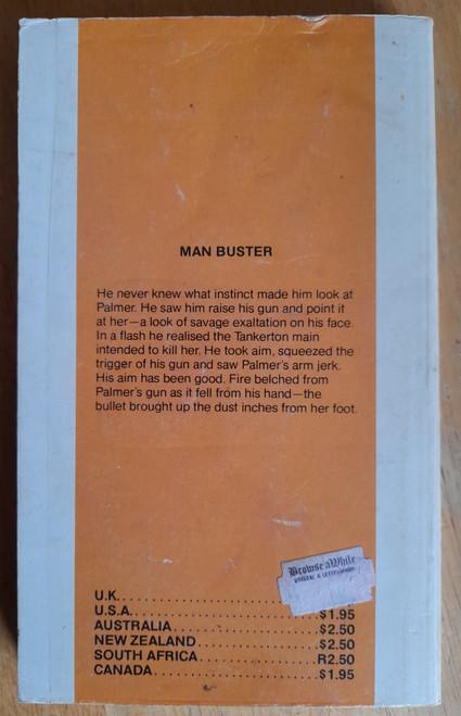 Holmes, Alan - Man Buster - Vintage 1970's Western