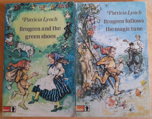 Lynch, Patricia - 2 Book Lot - Brogeen & the Green Shoes & Brogeen Follows the Magic Tune - PB - 1972 - illustrated by Peggy Fortnum