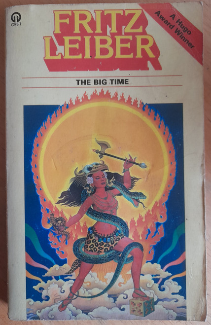 Leiber, Fritz - The Big Time - Vintage Orbit UK SF PB