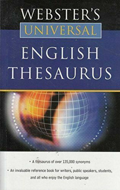 Websters Universal: English Thesaurus