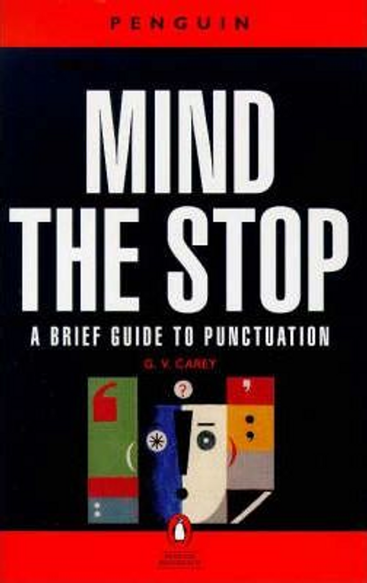 Carey, Gordon Vero / Mind the Stop