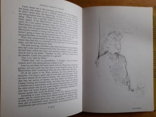 Behan, Brendan - Brendan Behan's Island : a Sketchbook ( Drawings by Paul Hogarth) HB - 2ND Impression 1962