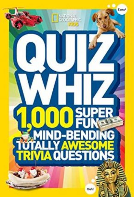 National Geographic Kids: Quiz Whiz (Large Paperback)