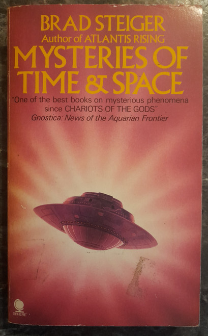 Steiger, Brad - Mysteries of Time and Space - Vintage PB - 1977