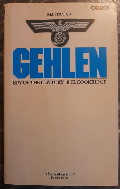 Cookridge, E.H - Gehlen : Spy of the Century - PB - Vintage Corgi 1974