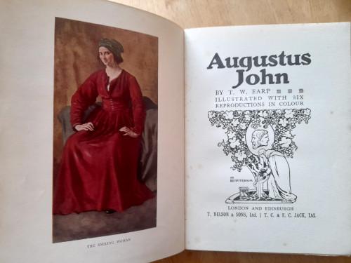 Earp, T.W - Augustus John - HB - Illustrated - 1930