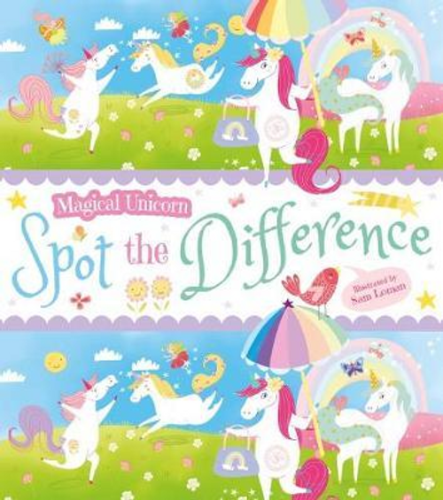 Magical Unicorn: Spot the Difference (Children's Picture Book)