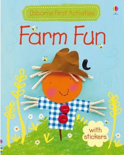 Usborne First Activities: Farm Fun (Children's Picture Book)
