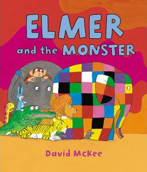 McKee, David / Elmer and the Monster (Children's Picture Book)