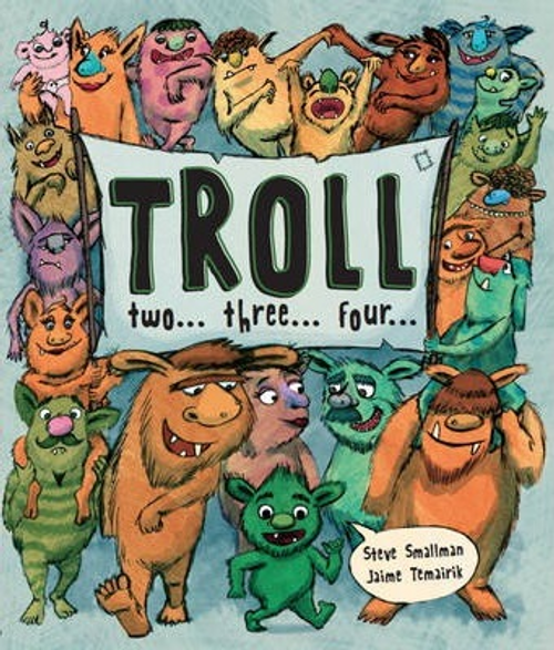 Troll Two Three Four (Children's Picture Book)