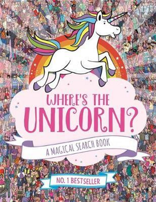 Where's the Unicorn? : A Magical Search and Find Book (Children's Picture Book)