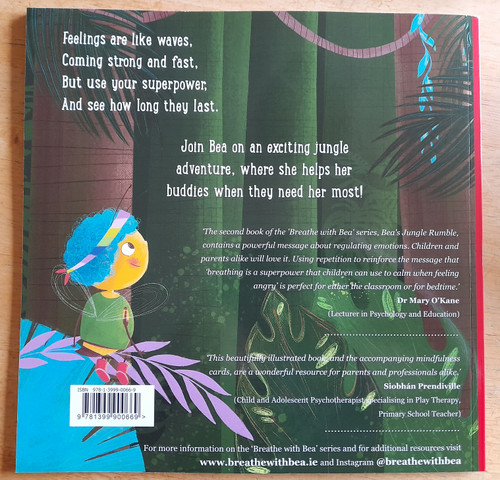 Keating, Claire & Dore, Sinéad - Bea's Jungle Rumble - ( A Book About Kindness and Dealing With Anger )  - PB - BRAND NEW