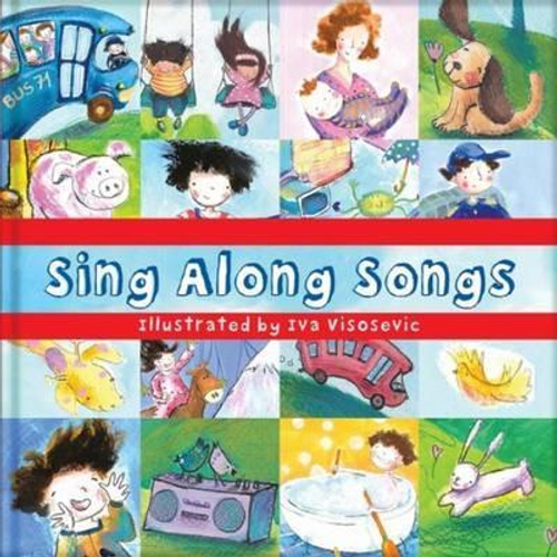 Square Paperback Book: Sing Along Songs (Children's Picture Book)