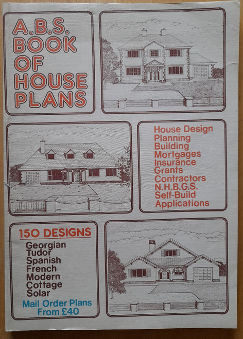 Lucey, Michael P - A.B.S Book of House Plans - 4th Edition - PB - Vintage