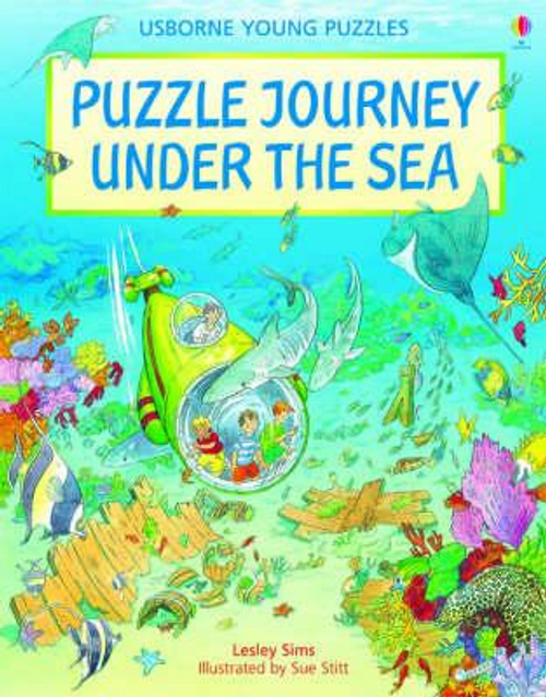 Sims, Lesley / Puzzle Journey Under the Sea (Children's Picture Book)