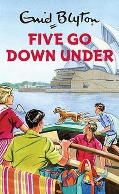 Blyton, Enid / Five Go Down Under (Hardback)