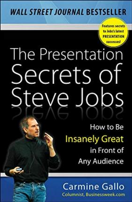 Gallo, Carmine / The Presentation Secrets of Steve Jobs (Hardback)