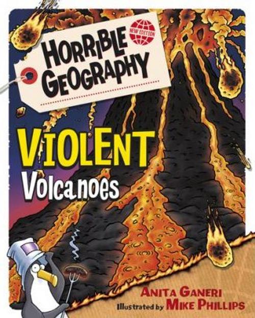 Ganeri, Anita / Violent Volcanoes (Large Paperback)