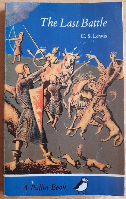 Lewis, C.S. - The Chronicles of Narnia : The Last Battle ( Vintage Puffin PB )