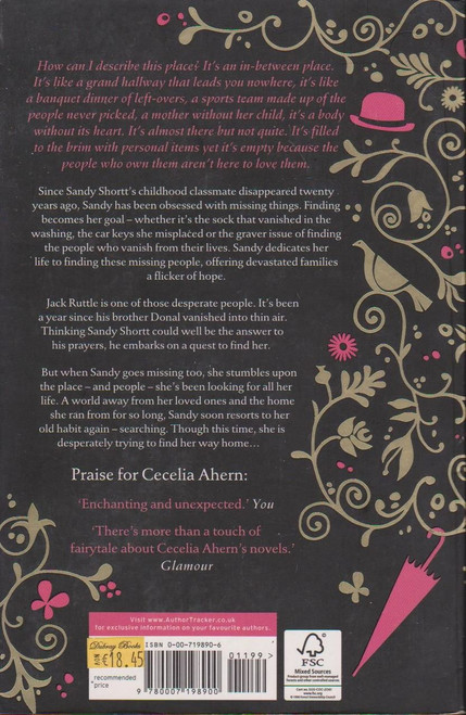 Cecelia Ahern / A Place Called Here (Signed by the Author)
