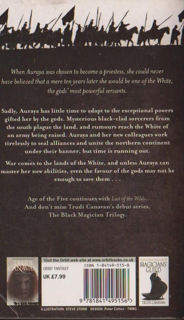 Canavan, Trudi / Priestess of the White  ( Age of the Five Trilogy, Book 1)