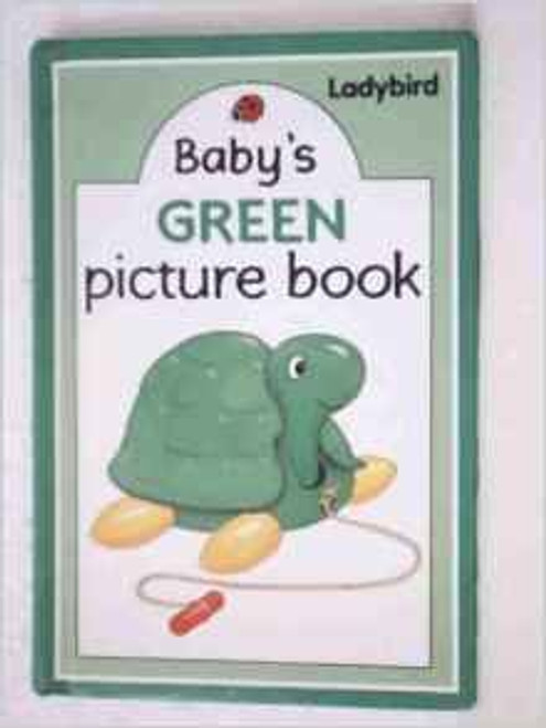 ladybird / Babys Green Picture Book