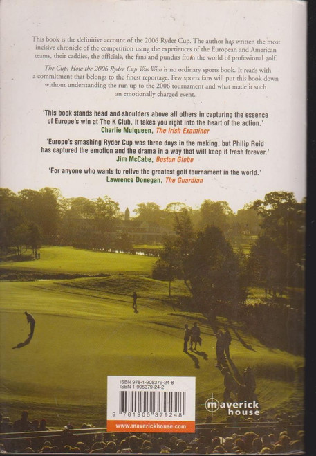 Philip Reid / The Cup: How the 2006 Ryder Cup Was Won(Signed by the Author)
