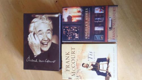 McCourt, Frank - Angela's Ashes / Tis ( Box Set of 2 slipcased Hardcovers 1999 Limerick