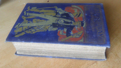 Hayens, Herbert - Paris at Bay - Blackie Illustrated Boards - Vintage Adventure Hardcover 1905