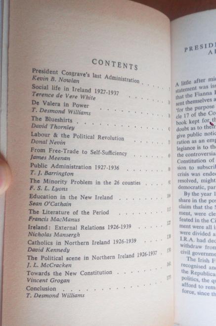 MacManus, Francis - The Years of the Great Test - 1926-39- Ireland History Essays Thomas Davis