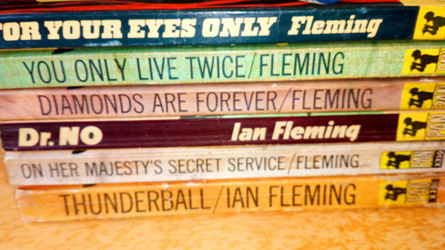 Fleming, Ian - 6 Vintage James Bond 1960s Paperback Pan Books