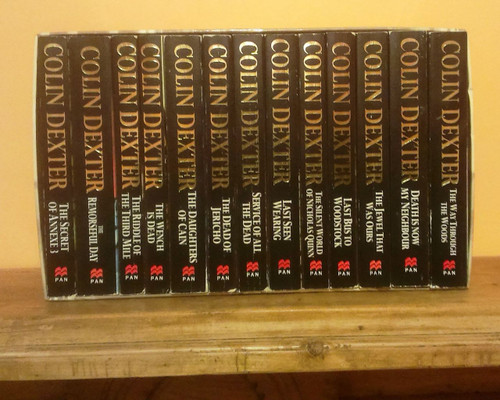 Inspector Morse by Colin Dexter (Complete 13 Book Box Set)