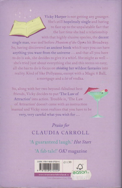 Claudia Carroll / Do You Want to Know a Secret? Airport Size (Signed by the Author)