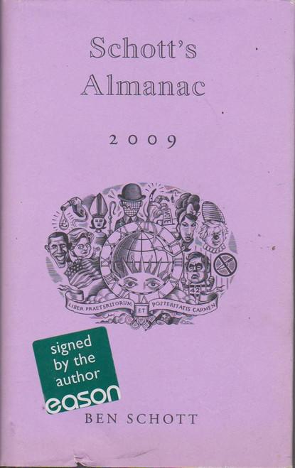 Ben Schott / Schott's Alamanac 2009 (Signed by the Author)