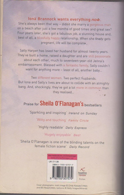 Sheila O'Flanagan / Yours Faithfully Airport Size(Signed by the Author)