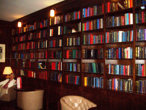 1 Meter of Varying Sized, Plain Covered, Hardback Books