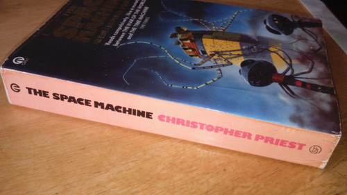 Priest, Christopher SIGNED The Space Machine VINTAGE 1977 Science FICTION HG Wells
