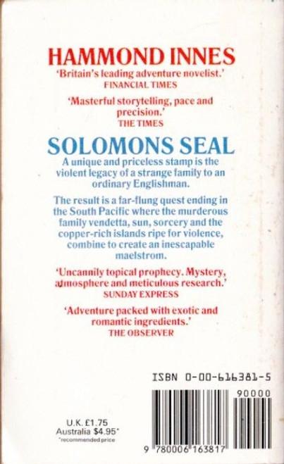 Innes, Hammond / Solomons Seal