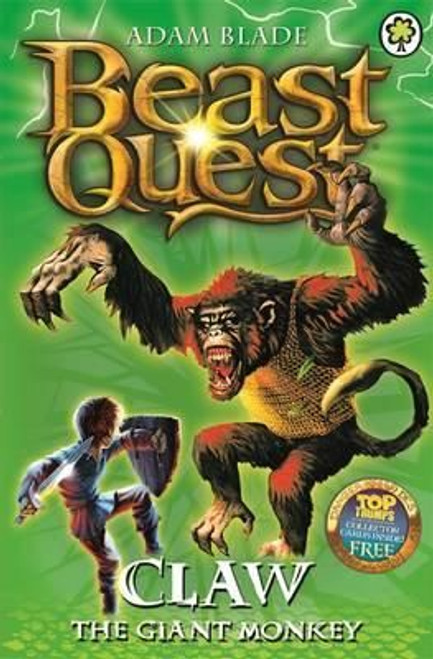 Blade, Adam / Beast Quest: Claw the Giant Monkey