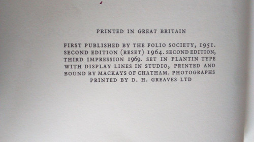 Crane, Stephen  Red Badge of Courage 1968 Folio Society Illustrated ED US Civil War Hardcover