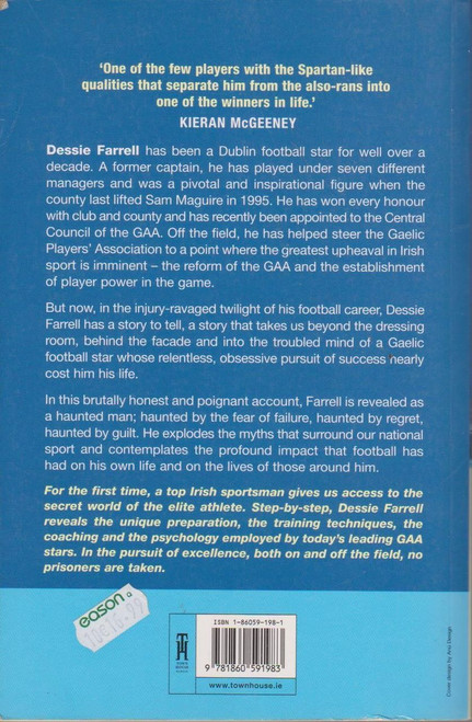 Dessie Farrell / Dessie Tangled Up In Blue (Signed by the Author)